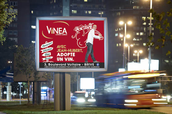 AFFICHAGE COMEVENTS VINEA